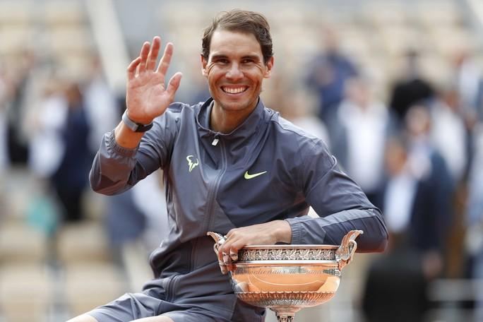 Nadal lần thứ 12 vô địch Pháp mở rộng, đe dọa kỷ lục của Federer - Ảnh 6.