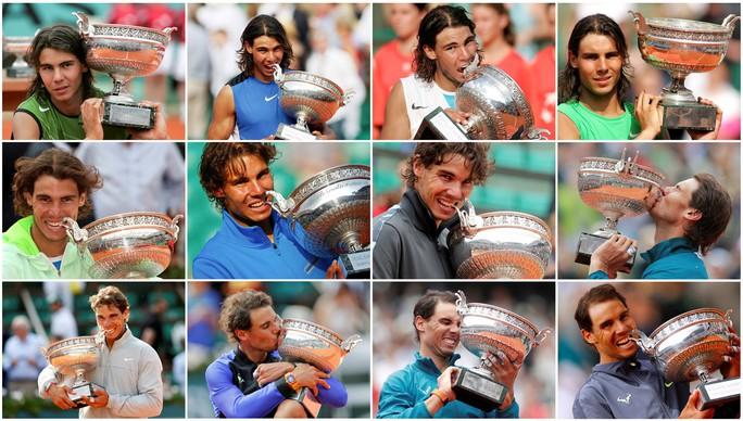 Nadal lần thứ 12 vô địch Pháp mở rộng, đe dọa kỷ lục của Federer - Ảnh 7.