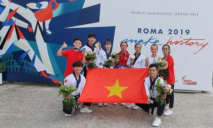 Châu Tuyết Vân và đồng đội giúp Việt Nam có HCV tại Grand Prix Thế giới Rome 2019 - Ảnh 1.