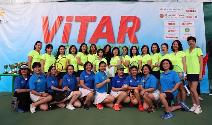 Tưng bừng Giải Quần vợt ViTAR Open 2019 - Ảnh 2.