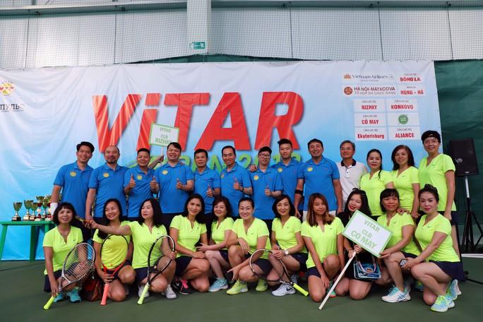 Tưng bừng Giải Quần vợt ViTAR Open 2019 - Ảnh 3.