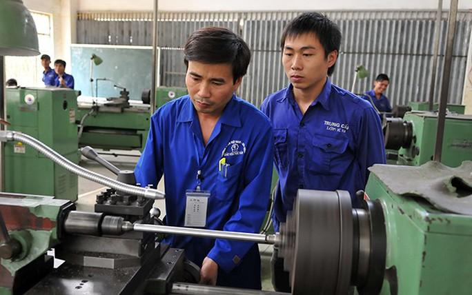 Điều kiện mới hỗ trợ đào tạo nghề cho người lao động - Ảnh 1.
