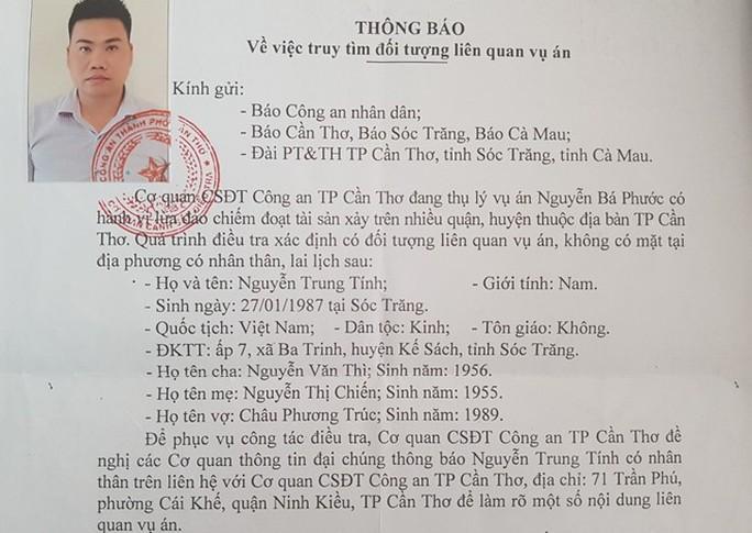 Công an TP Cần Thơ yêu cầu ông Nguyễn Trung Tính đến làm việc - Ảnh 1.