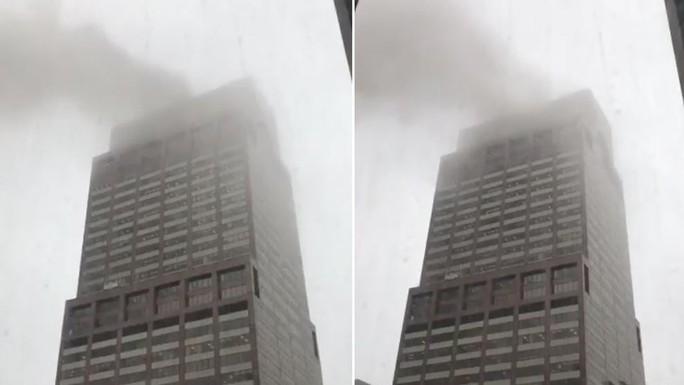 Mỹ: Trực thăng lao xuống trung tâm New York gây náo loạn - Ảnh 3.