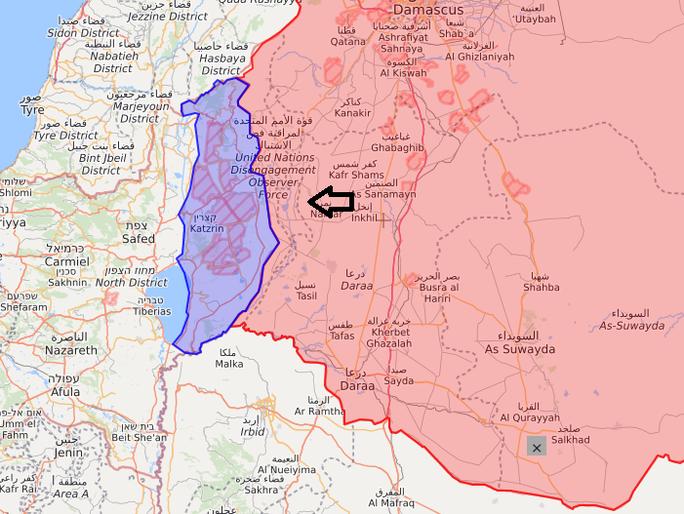 Phòng không Syria bắn hạ tên lửa Israel - Ảnh 1.