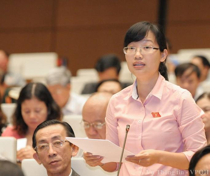 Đại biểu Trần Thị Diệu Thúy: Không đồng ý đề xuất tăng tuổi nghỉ hưu - Ảnh 1.
