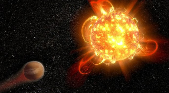 Mặt trời có thể tung siêu pháo sáng đe dọa trái đất - Ảnh 1.