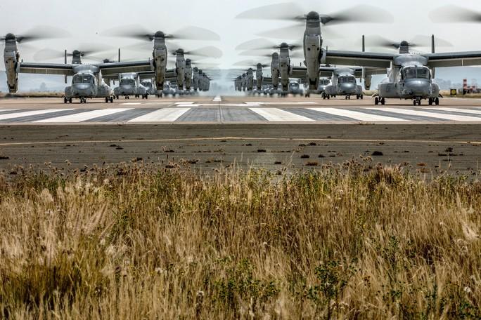 """Trực thăng quân sự Mỹ phô diễn sức mạnh trong tập trận """"Voi đi bộ"""" - Ảnh 6."""