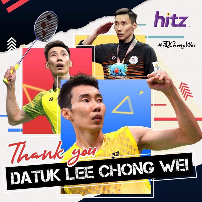 Huyền thoại sống cầu lông Malaysia Lee Chong Wei tuyên bố giải nghệ - Ảnh 1.