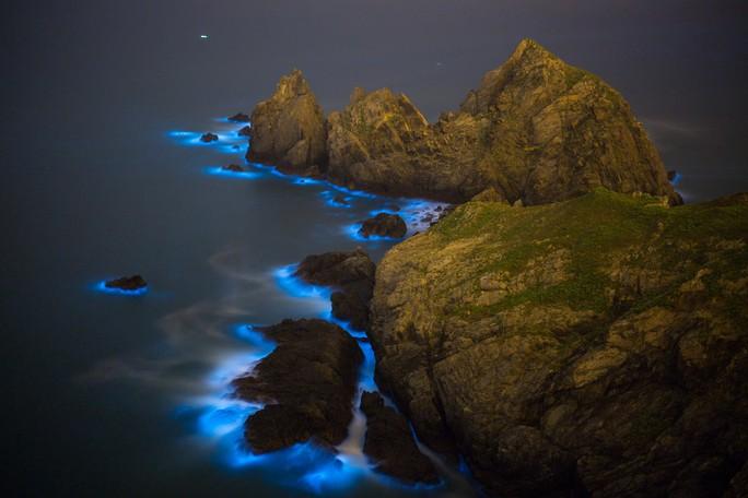 Nước mắt xanh ma quái lan rộng trên biển Trung Quốc - Ảnh 1.