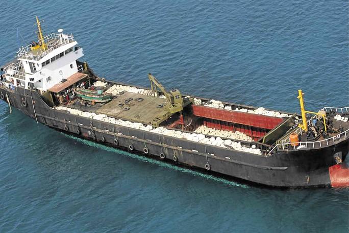 Ngư dân Philippines phản đối Trung Quốc bắt ngao khổng lồ ở biển Đông - Ảnh 1.