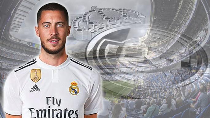 Bom tấn Hazard chào sân, 50.000 CĐV Real Madrid lên cơn sốt  - Ảnh 2.