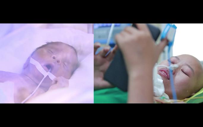 Trào nước mắt khoảnh khắc người mẹ ung thư vú lần đầu ôm con vào lòng - Ảnh 24.