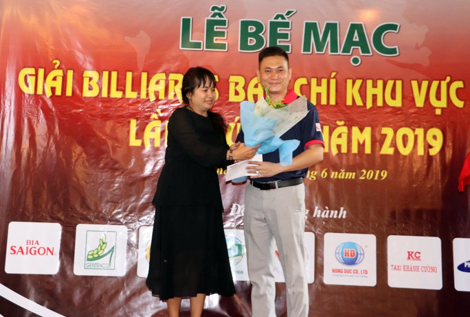 Giải Bida Báo chí ĐBSCL lần thứ 12 do Báo Người Lao Động tổ chức thành công tốt đẹp - Ảnh 2.