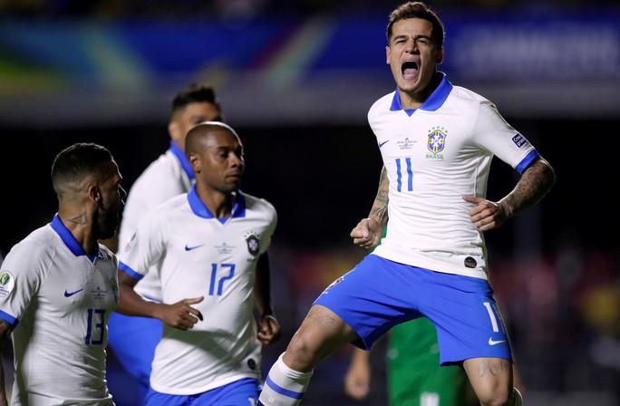 Siêu dự bị lập siêu phẩm, Brazil thắng đậm trận mở màn Copa America - Ảnh 7.