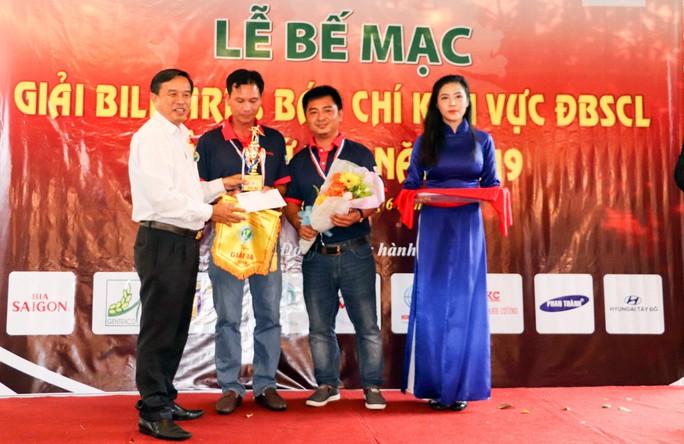 Giải Bida Báo chí ĐBSCL lần thứ 12 do Báo Người Lao Động tổ chức thành công tốt đẹp - Ảnh 5.