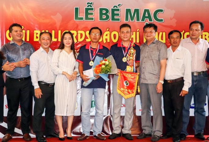 Giải Bida Báo chí ĐBSCL lần thứ 12 do Báo Người Lao Động tổ chức thành công tốt đẹp - Ảnh 1.
