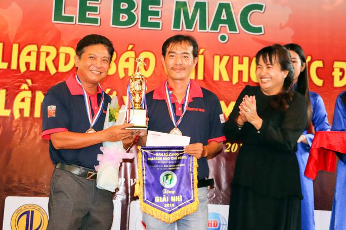 Giải Bida Báo chí ĐBSCL lần thứ 12 do Báo Người Lao Động tổ chức thành công tốt đẹp - Ảnh 4.