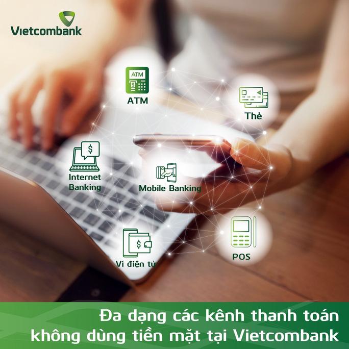 Vietcombank thúc đẩy Ngày không dùng tiền mặt 16-6 - Ảnh 1.