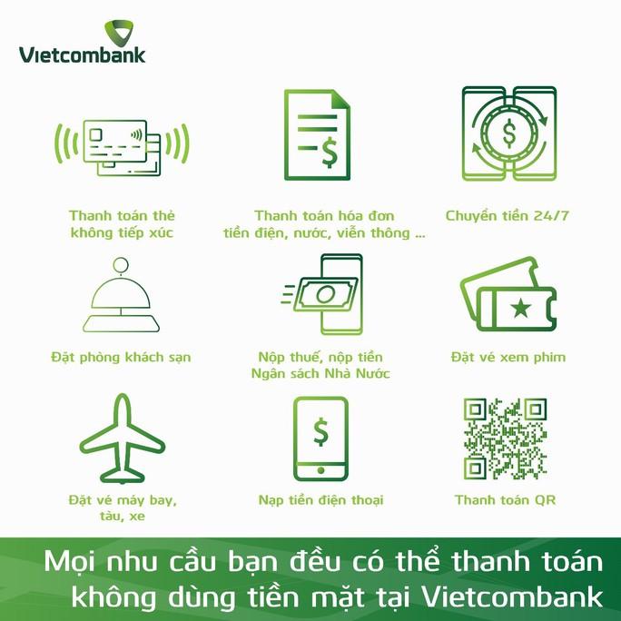 Vietcombank thúc đẩy Ngày không dùng tiền mặt 16-6 - Ảnh 2.