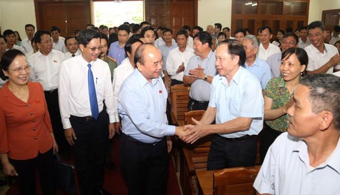 """Thủ tướng Nguyễn Xuân Phúc: """"Chỗ nào người dân được hưởng lợi nhiều nhất thì đầu tư"""" - Ảnh 1."""