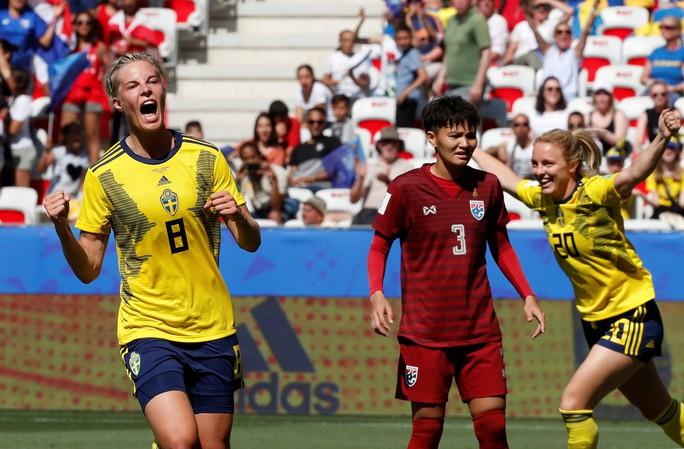 Thái Lan tiếp tục thảm bại, sớm bị loại khỏi World Cup nữ 2019 - Ảnh 4.