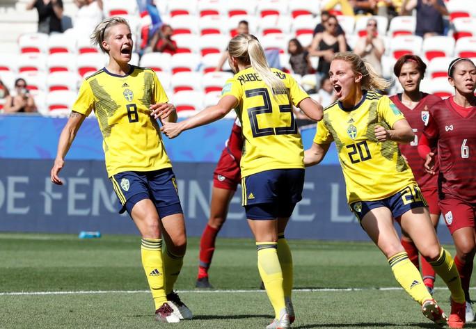 Thái Lan tiếp tục thảm bại, sớm bị loại khỏi World Cup nữ 2019 - Ảnh 1.