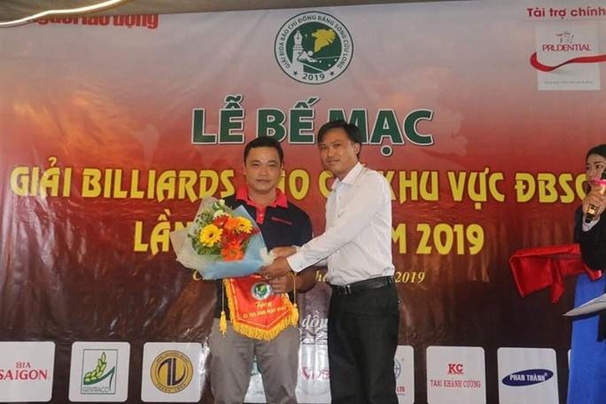 Giải Bida Báo chí ĐBSCL lần thứ 12 do Báo Người Lao Động tổ chức thành công tốt đẹp - Ảnh 3.