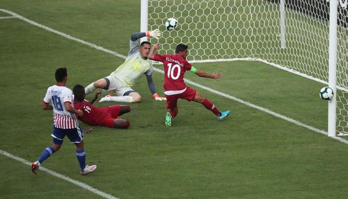 Ngược dòng cầm hòa Paraguay, Qatar gây sốc Copa America - Ảnh 3.