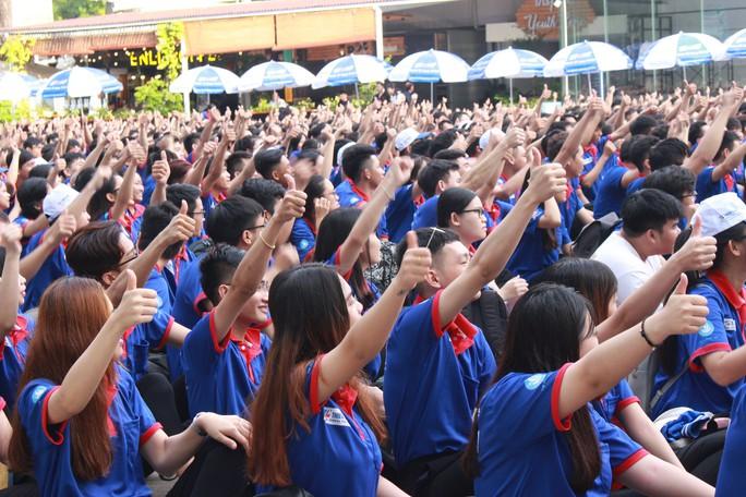 2.000 sinh viên tình nguyện ra quân Tiếp sức mùa thi 2019 - Ảnh 1.