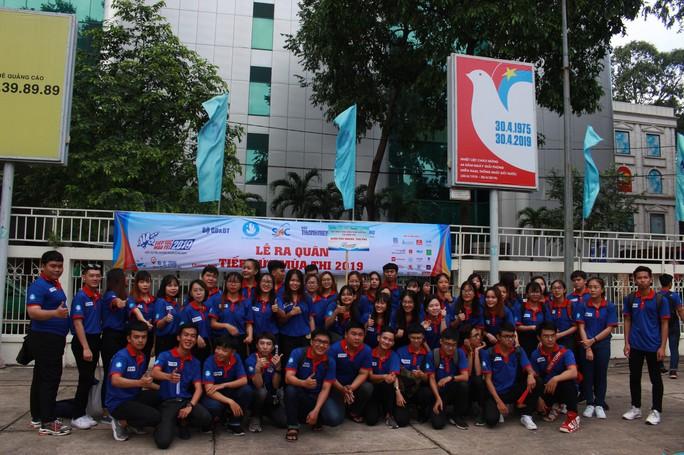 2.000 sinh viên tình nguyện ra quân Tiếp sức mùa thi 2019 - Ảnh 3.