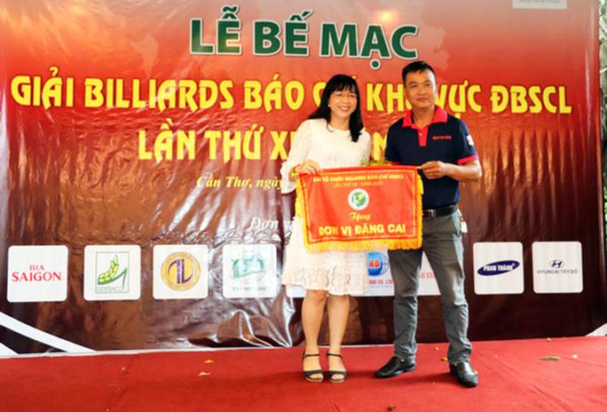 Giải Bida Báo chí ĐBSCL lần thứ 12 do Báo Người Lao Động tổ chức thành công tốt đẹp - Ảnh 12.