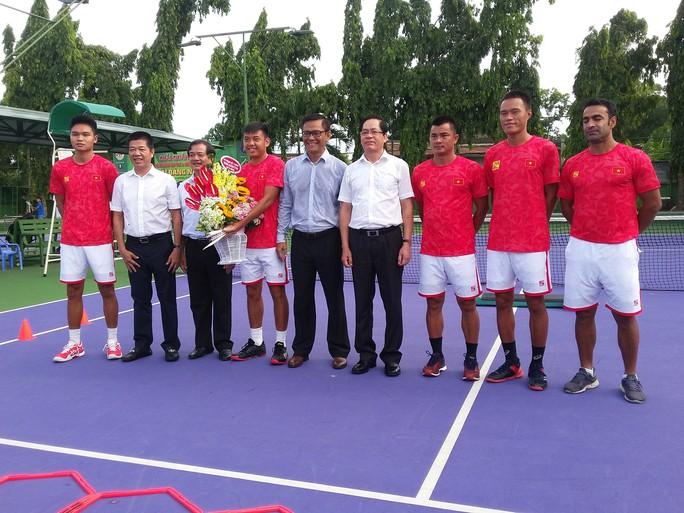Quần vợt Việt Nam được tiếp thêm động lực trước Davis Cup 2019 - Ảnh 2.
