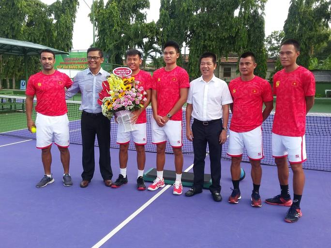 Quần vợt Việt Nam được tiếp thêm động lực trước Davis Cup 2019 - Ảnh 5.