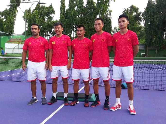 Quần vợt Việt Nam được tiếp thêm động lực trước Davis Cup 2019 - Ảnh 1.