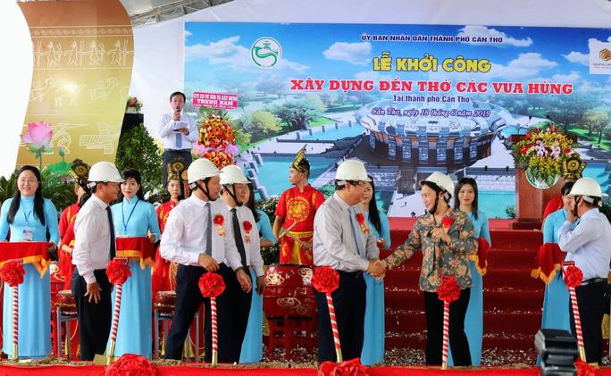Chủ tịch Quốc hội dự lễ khởi công xây dựng Đền thờ các vua Hùng tại Cần Thơ - Ảnh 1.