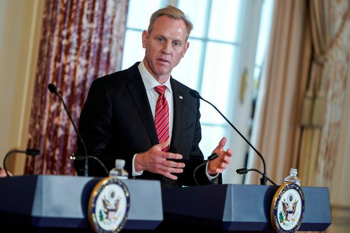 Quyền Bộ trưởng Quốc phòng Mỹ từ chức - Ảnh 1.