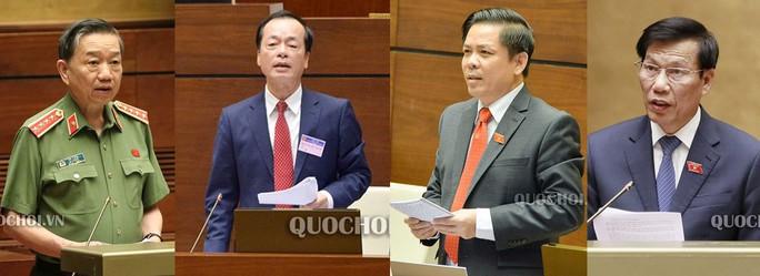 Quốc hội chất vấn 4 bộ trưởng - Ảnh 1.