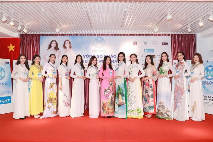 Lộ diện 34 thí sinh vòng chung khảo phía Nam Hoa hậu Thế giới VIệt Nam 2019 - Ảnh 8.