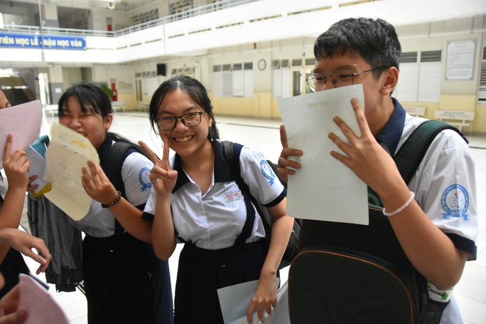 Công bố điểm thi  lớp 10: Gần 50% bài thi toán dưới 5 điểm - Ảnh 4.