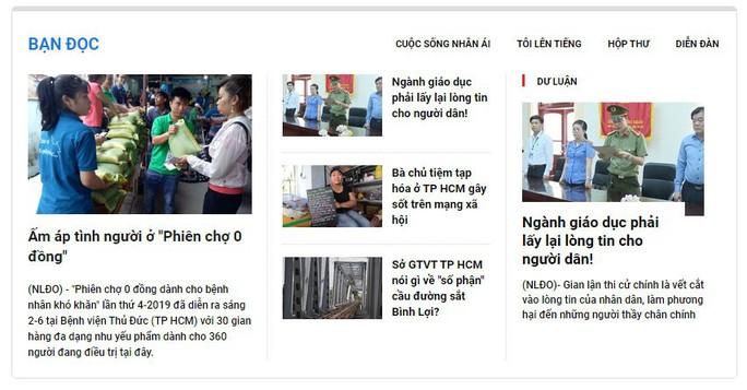 Mời bạn đọc góp ý giao diện mới báo Người Lao Động điện tử - Ảnh 4.