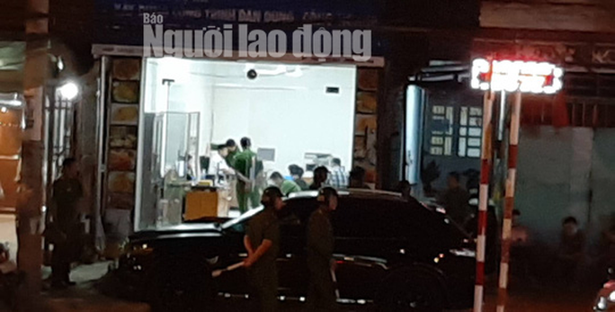 Khám xét nhà, công ty chủ doanh nghiệp kêu giang hồ vây xe công an - Ảnh 3.