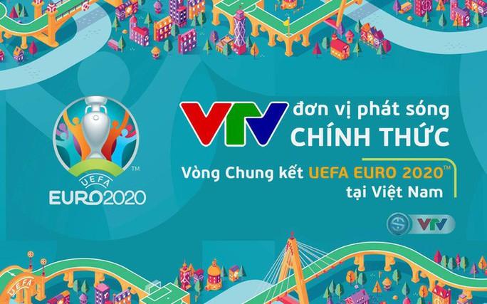 VTV mua bản quyền Euro 2020 tại Việt Nam - Ảnh 1.