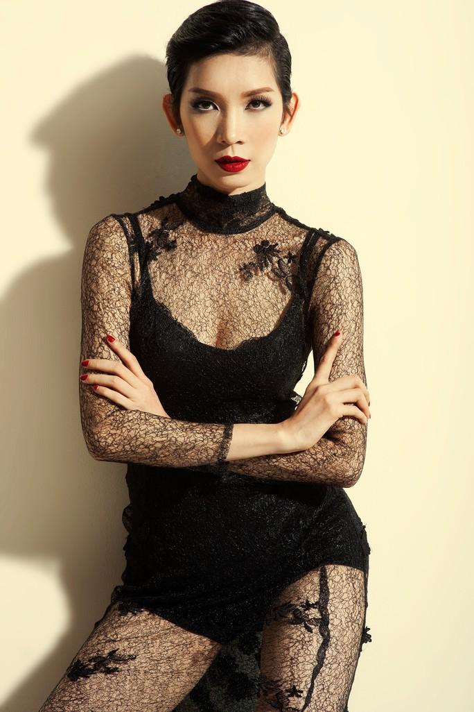 Siêu mẫu Xuân Lan từng thi hoa hậu, bị loại từ vòng gởi xe - Ảnh 1.