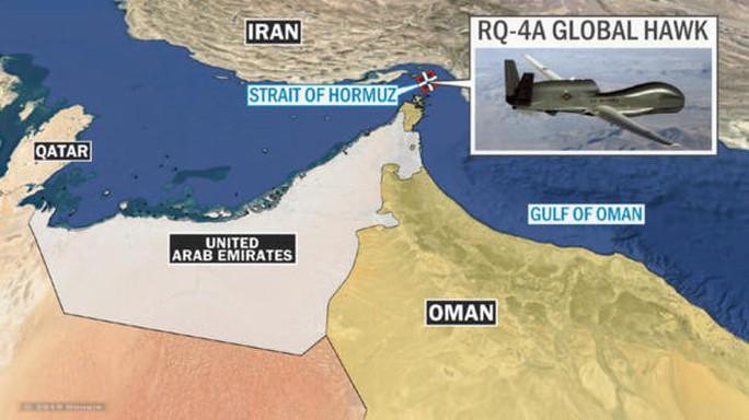 Iran công bố hình ảnh đầu tiên về UAV Mỹ bị bắn rơi - Ảnh 4.