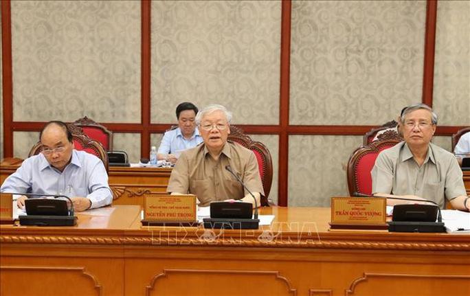 Tổng Bí thư, Chủ tịch nước chủ trì họp Bộ Chính trị phê duyệt quy hoạch Trung ương khóa XIII - Ảnh 1.