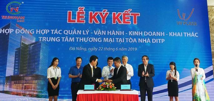 Đà Nẵng: Khánh thành tòa nhà cao nhất quận Liên Chiểu - Ảnh 2.