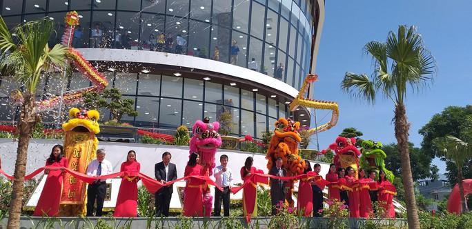 Đà Nẵng: Khánh thành tòa nhà cao nhất quận Liên Chiểu - Ảnh 1.