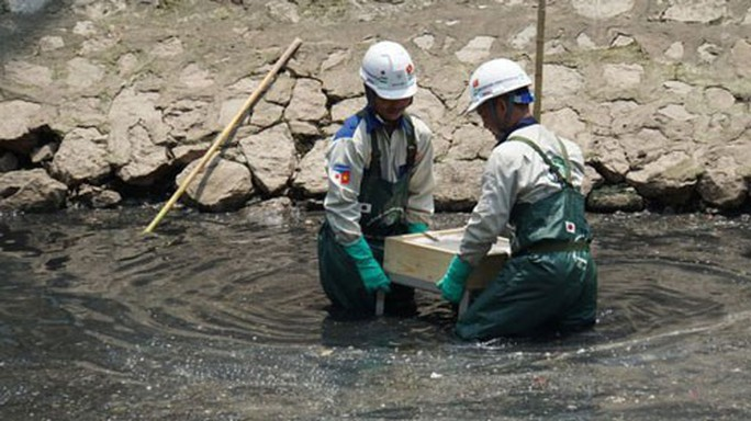 Làm sạch sông Tô Lịch - Ảnh 1.