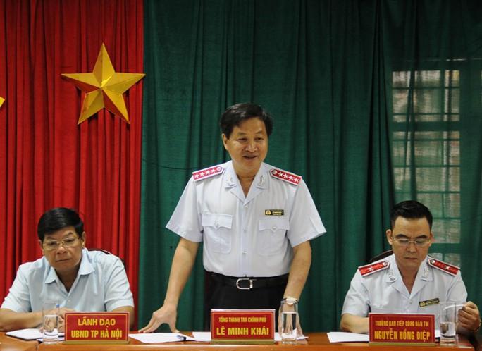 Tổng TTCP chấn chỉnh toàn ngành sau vụ Thanh tra xây dựng vòi tiền - Ảnh 1.